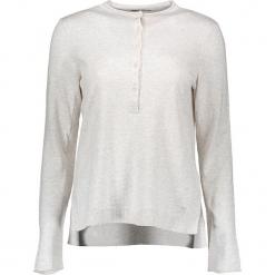 Sweter w kolorze kremowym. Białe swetry oversize damskie marki Marc O'Polo, xs, ze splotem. W wyprzedaży za 260,95 zł.