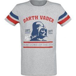 Star Wars Darth Vader T-Shirt odcienie jasnoszarego. Niebieskie t-shirty męskie z nadrukiem marki Reserved, l, z okrągłym kołnierzem. Za 62,90 zł.