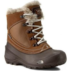 Buty zimowe chłopięce: Śniegowce THE NORTH FACE – Youth Shellista Extreme T92T5VNGW Dachshund Brown/Moonlight Ivory