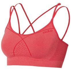 Biustonosze sportowe: Odlo Biustonosz Sports Seamless Bra Top Soft różowy r.S (130271)