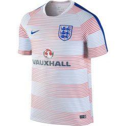 Nike Koszulka męska England Pre-Match Training II biała r. M (725313 101). Białe koszulki sportowe męskie marki Nike, m. Za 146,74 zł.