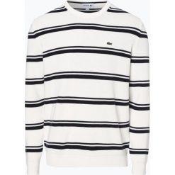 Lacoste - Sweter męski, czarny. Szare swetry klasyczne męskie marki Lacoste, z bawełny. Za 649,95 zł.