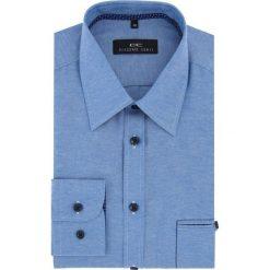 Koszula MARCO 16-04-17-K. Białe koszule męskie na spinki marki Giacomo Conti, m, z bawełny, z klasycznym kołnierzykiem. Za 149,00 zł.