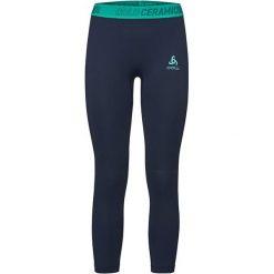Odlo Spodnie tech. Odlo Bottom 7/8 CERAMICOOL MOTION      - 360281 - 360281/40250/S. Czarne spodnie sportowe damskie marki Odlo, s. Za 226,61 zł.