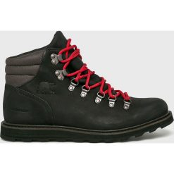 Sorel - Buty Madson Hiker Waterproof. Czarne buty trekkingowe męskie Sorel, na zimę, z materiału, outdoorowe. Za 799,90 zł.