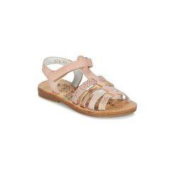 Sandały Dziecko  Babybotte  YLIANA4. Czerwone sandały dziewczęce marki Babybotte. Za 311,20 zł.