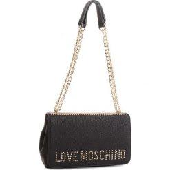 Torebka LOVE MOSCHINO - JC4064PP16LS000A  Nero. Czarne torebki klasyczne damskie marki Love Moschino, ze skóry ekologicznej. Za 839,00 zł.