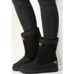 Czarne Śniegowce Morning Glory. Czarne buty zimowe damskie vices. Za 79,99 zł.