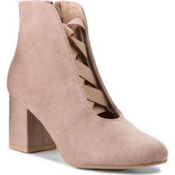 Botki SERGIO BARDI - Cassola SS127342218SG 803. Brązowe buty zimowe damskie Sergio Bardi, ze skóry ekologicznej, na obcasie. W wyprzedaży za 269,00 zł.