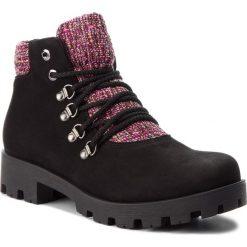 Trapery OLEKSY - 2423/B22/D71/000/000 Czarny. Szare buty zimowe damskie marki Oleksy, ze skóry. W wyprzedaży za 239,00 zł.