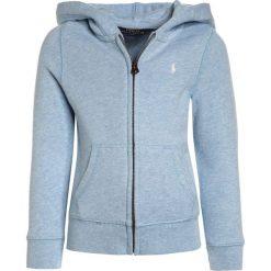 Polo Ralph Lauren HOODIE Bluza rozpinana elite blue heather. Niebieskie bluzy dziewczęce Polo Ralph Lauren, z bawełny. Za 269,00 zł.