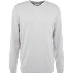 Golfy męskie: adidas Golf MERINO PLAITED PIMA VNECK Sweter off white
