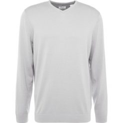 Swetry męskie: adidas Golf MERINO PLAITED PIMA VNECK Sweter off white