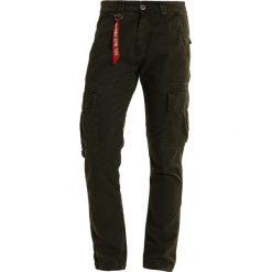 Spodnie męskie: Alpha Industries AGENT Bojówki black oliv