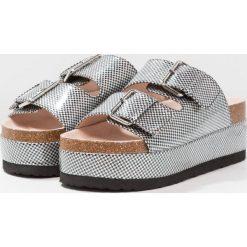 Chodaki damskie: Shellys London HAWAII Klapki silver/black