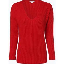 Marie Lund - Sweter damski, czerwony. Czerwone swetry klasyczne damskie Marie Lund, xl, z dzianiny, z dekoltem w serek. Za 229,95 zł.