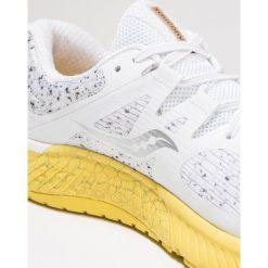 Saucony GUIDE ISO Obuwie do biegania Stabilność white. Białe buty do biegania męskie Saucony, z materiału. Za 589,00 zł.