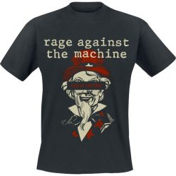 Rage Against The Machine Sam Free T-Shirt czarny. Czarne t-shirty męskie z nadrukiem Rage Against The Machine, s, z okrągłym kołnierzem. Za 74,90 zł.