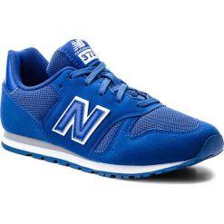 Trampki chłopięce: Sneakersy NEW BALANCE – KJ373UEY Granatowy