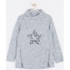 Bluza. Szare bluzy dziewczęce rozpinane MAGICAL, z aplikacjami, z poliesteru, z długim rękawem, długie. Za 109,90 zł.