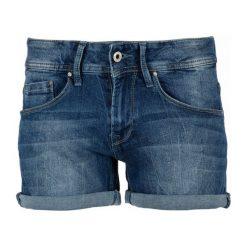 Szorty damskie: Pepe Jeans Szorty Damskie Siouxie 26 Niebieski
