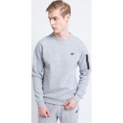 Bluzy męskie: Bluza męska BLM226 – szary melanż