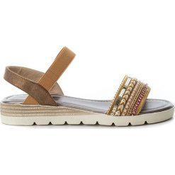 Rzymianki damskie: Sandały w kolorze miedzianym