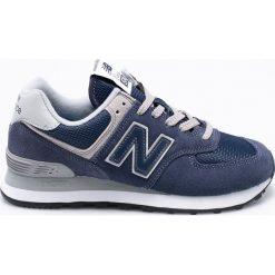 New Balance - Buty WL574EN. Szare buty sportowe damskie New Balance, z gumy. Za 349,90 zł.