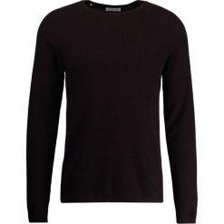 Swetry klasyczne męskie: Selected Homme CREW NECK Sweter decadent chocolate/black