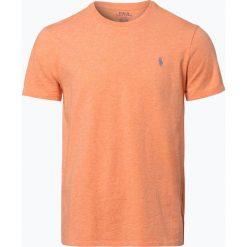 Polo Ralph Lauren - T-shirt męski, pomarańczowy. Brązowe koszulki polo marki Polo Ralph Lauren, m, z haftami. Za 179,95 zł.