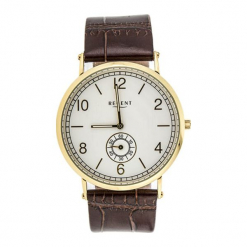 """Zegarek """"11100216"""" w kolorze brązowo-złotym. Brązowe, analogowe zegarki męskie marki Dugena & Nautec No Limit, ze stali. W wyprzedaży za 219,95 zł."""