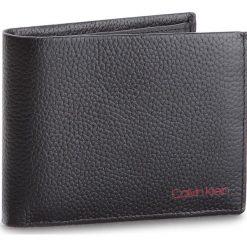 Duży Portfel Męski CALVIN KLEIN - Pebble Edge 5Cc Coin K50K503818 001. Czarne portfele męskie marki Calvin Klein, ze skóry. W wyprzedaży za 239,00 zł.