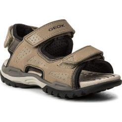 Sandały GEOX - J  Borealis B. B J720RB 000BC C5004 M Sand. Brązowe sandały chłopięce Geox, z materiału. Za 269,00 zł.