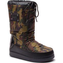 Śniegowce LOVE MOSCHINO - JA24072G06JN0852 St.Camouf.Mili. Zielone buty zimowe damskie Love Moschino, z materiału. Za 659,00 zł.