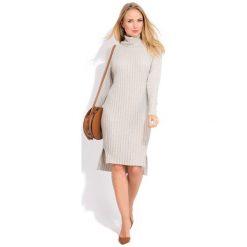 Fille Du Couturier Sukienka Damska Avril 44 Beżowy. Brązowe sukienki na komunię Fille Du Couturier, na co dzień, z materiału, z długim rękawem. W wyprzedaży za 230,00 zł.