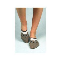 Skarpetki damskie: Skarpetki stopki z kocim pyszczkiem