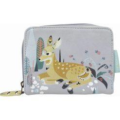 """Portfele damskie: Portfel """"Nordikka Deer"""" w kolorze szarym – 14 x 11 x 2 cm"""