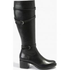 Kozaki czarne Natea. Czarne buty zimowe damskie Badura. Za 429,99 zł.