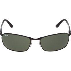 RayBan Okulary przeciwsłoneczne black. Czarne okulary przeciwsłoneczne męskie wayfarery Ray-Ban. Za 669,00 zł.