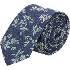 Krawat kwiaty zielony 100. Zielone krawaty męskie Recman, w kwiaty. Za 49,00 zł.