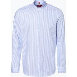 Koszule męskie na spinki: Finshley & Harding London - Koszula męska, niebieski