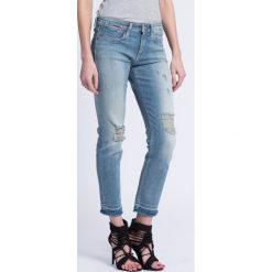 Hilfiger Denim - Jeansy. Niebieskie jeansy damskie rurki marki Sinsay, z podwyższonym stanem. W wyprzedaży za 279,90 zł.