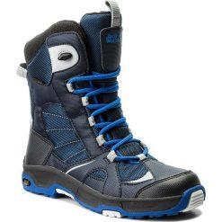 Buty zimowe chłopięce: Śniegowce JACK WOLFSKIN – Boys Snow Ride Texapore 4012042 Vibrant Blue S