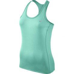 Koszulka do biegania damska NIKE DRI-FIT CONTOUR TANK / 644688-391 - NIKE DRI-FIT CONTOUR TANK. Zielone topy sportowe damskie Nike. Za 79,00 zł.