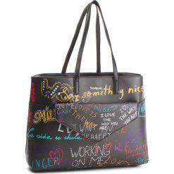 Torebka DESIGUAL - 18WAXPCZ 2000. Czarne torebki klasyczne damskie Desigual, ze skóry ekologicznej. W wyprzedaży za 249,00 zł.