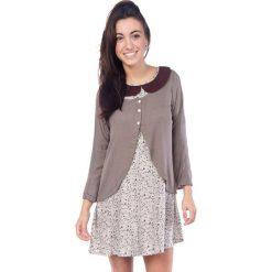 Swetry damskie: Sweter w kolorze brązowym