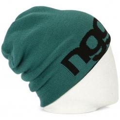 Nugget Czapka Unisex Logo 4 Reversible Beanie, Zielona. Zielone czapki zimowe damskie Nugget. Za 83,00 zł.