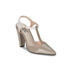 Sandały Alba Moda  MINATULLE. Brązowe sandały trekkingowe damskie Alba Moda. Za 351,20 zł.