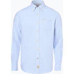 Napapijri - Koszula męska, niebieski. Szare koszule męskie marki Napapijri, l, z materiału, z kapturem. Za 299,95 zł.