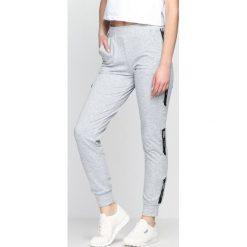 Spodnie dresowe damskie: Szare Spodnie Dresowe Addiction